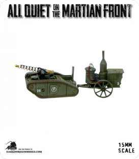 All Quiet on the Martian Front: United States - Tesla Tank