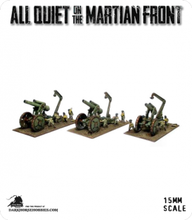 All Quiet on the Martian Front: United States - Heavy Field Gun Battery