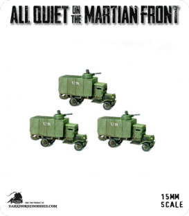 All Quiet on the Martian Front: United States - US Armored Flivvers with Machine Guns