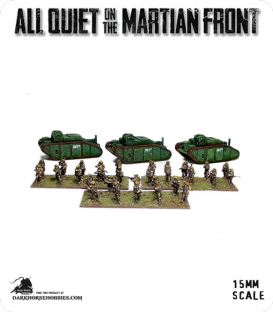 All Quiet on the Martian Front: United States - Armored Infantry Carriers