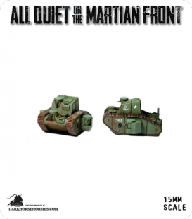 All Quiet on the Martian Front: United States - MKIII S Support Tank