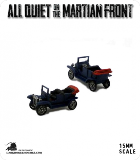 All Quiet on the Martian Front: United States - Ford 1920's Model T Cars