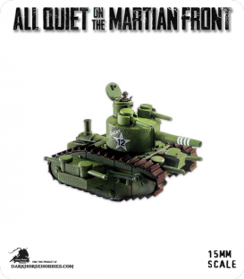 All Quiet on the Martian Front: United States - Patton MKIV Tank