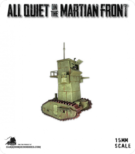 All Quiet on the Martian Front: United States - MKIV Command Tank