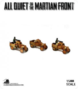 All Quiet on the Martian Front: United States - US Armored Cars