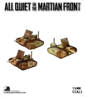 All Quiet on the Martian Front: United States - Texas Tanks