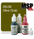 Master Series Paint: Core Colors - 09158 Olive Drab (1/2 oz)