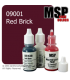 Master Series Paint: Core Colors - 09001 Red Brick (1/2 oz)