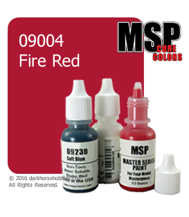 Master Series Paint: Core Colors - 09004 Fire Red (1/2 oz)