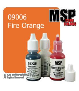 Master Series Paint: Core Colors - 09006 Fire Orange (1/2 oz)