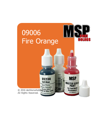 Master Series Paint: Core Colors - 09006 Fire Orange (1/2 oz)