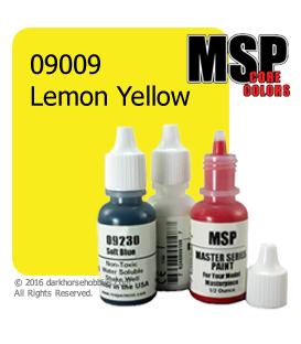 Master Series Paint: Core Colors - 09009 Lemon Yellow (1/2 oz)