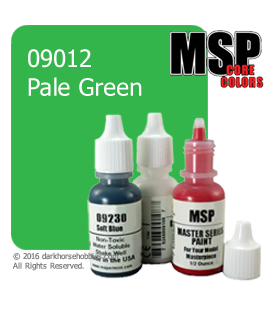 Master Series Paint: Core Colors - 09012 Pale Green (1/2 oz)