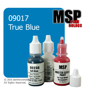 Master Series Paint: Core Colors - 09017 True Blue (1/2 oz)