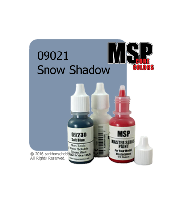 Master Series Paint: Core Colors - 09021 Snow Shadow (1/2 oz)