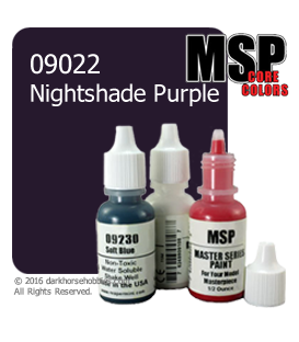 Master Series Paint: Core Colors - 09022 Nightshade Purple (1/2 oz)