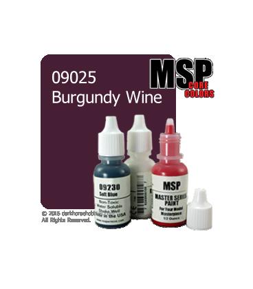 Master Series Paint: Core Colors - 09025 Burgundy Wine (1/2 oz)