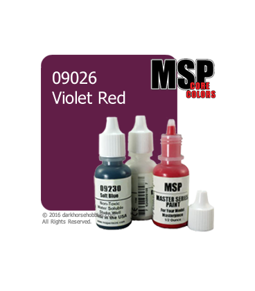 Master Series Paint: Core Colors - 09026 Violet Red (1/2 oz)