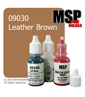 Master Series Paint: Core Colors - 09030 Leather Brown (1/2 oz)
