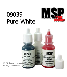 Master Series Paint: Core Colors - 09039 Pure White (1/2 oz)