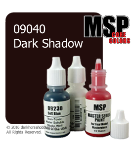 Master Series Paint: Core Colors - 09040 Dark Shadow (1/2 oz)