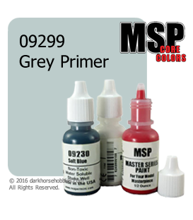 Master Series Paint: Core Colors - 09299 Grey Primer (1/2 oz)