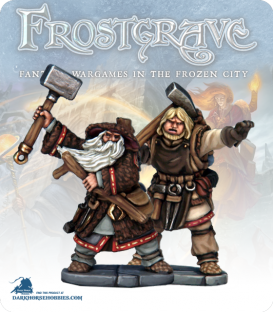Frostgrave: Wizards - Enchanter & Apprentice