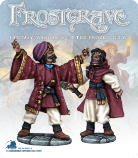 Frostgrave: Wizards - Summoner & Apprentice