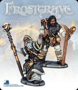 Frostgrave: Wizards - Thaumaturge & Apprentice
