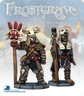 Frostgrave: Wizards - Witch & Apprentice