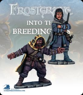 Frostgrave: Wizards - Elementalist & Apprentice II