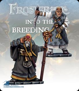 Frostgrave: Wizards - Soothsayer & Apprentice II