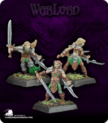 Warlord: Elves - Deathseekers, Elven Adept Box Set (painted by John Bonnet)