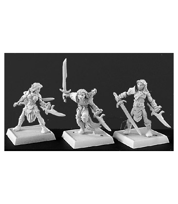 Warlord: Elves - Deathseekers, Elven Adept Box Set
