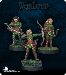 """Warlord: Elves - Elven Vale Archers Adept Box Set (painted by Sean """"Jabberwocky"""" Fulton)"""