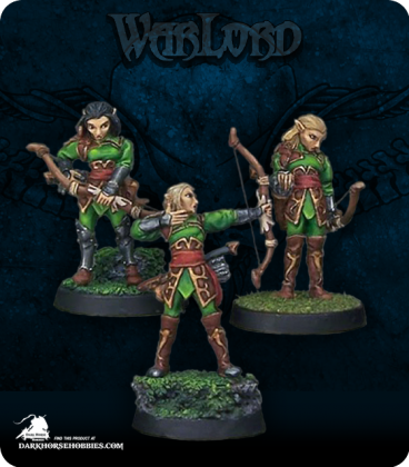 "Warlord: Elves - Elven Vale Archers Adept Box Set (painted by Sean ""Jabberwocky"" Fulton)"