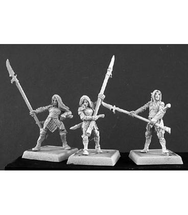 Warlord: Elves - Elven Vale Longthorns Grunt Box Set