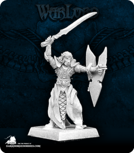 Warlord: Elves - Daereth, Elven Royal Guard Sergeant