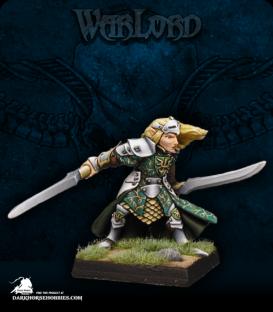 Warlord: Elves - Prince Danithal, Warlord (painted by Alex Glocka)