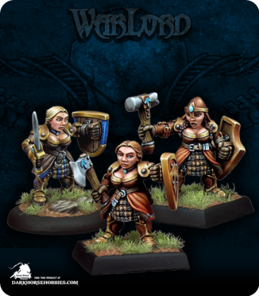Warlord: Dwarven Shield Maidens Adept Box Set