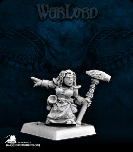 Warlord: Dwarves - Valana, Dwarven Forgemaiden Sergeant