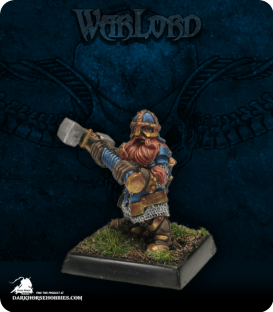Warlord: Dwarves - Kneebreaker (painted by John Bonnot)