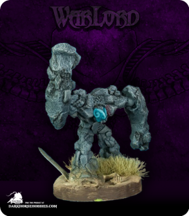 Warlord: Dwarves - Lesser Earth Elemental (painted by Mikael)