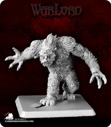Warlord: Icingstead - Yeti Warrior