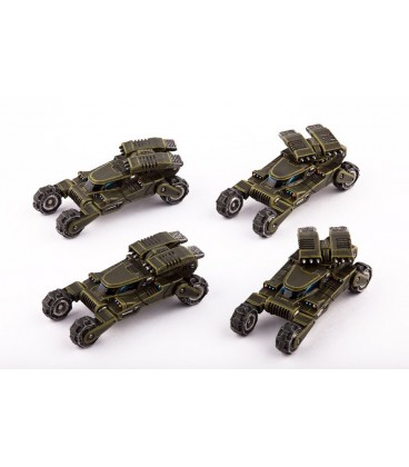 Dropzone Commander: UCM - Wolverine Scout Buggies