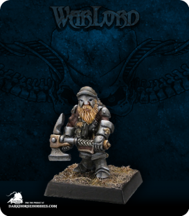 Warlord: Dwarves - Dwarven Miner Adept (painted by Philip Esterle)