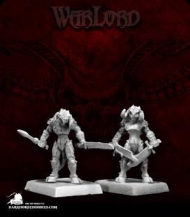28mm Scale Warlord: Darkspawn Miniatures (3) - Dark Horse