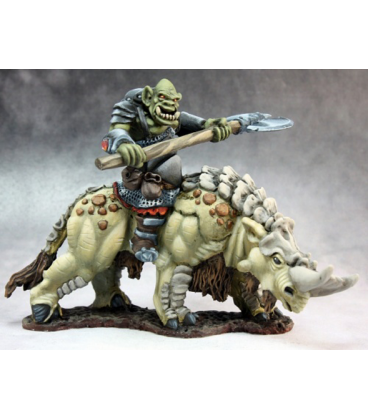 Warlord: Kargir - Tundra Beast Rider (painted by Martin Jones)