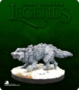 Dark Heaven Legends: Winter Wolf (painted by Citrine)