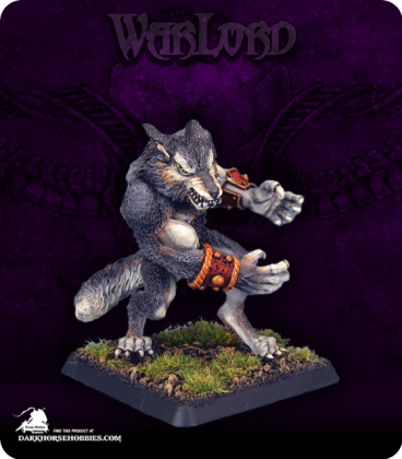 Warlord: Korborlas - Feral Lupine Hunter (painted by Anne Foerster)